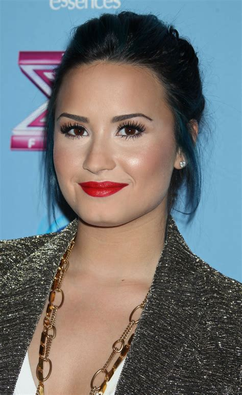 demi lovato    factor top  party  beverly hills