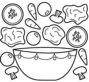 Vegetables coloring pages part 3 | School | Pinterest ...