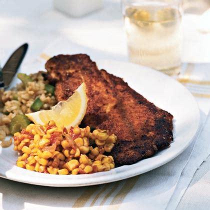 grouper blackened recipes dinner recipe cajun menu saturday myrecipes harrelson lee