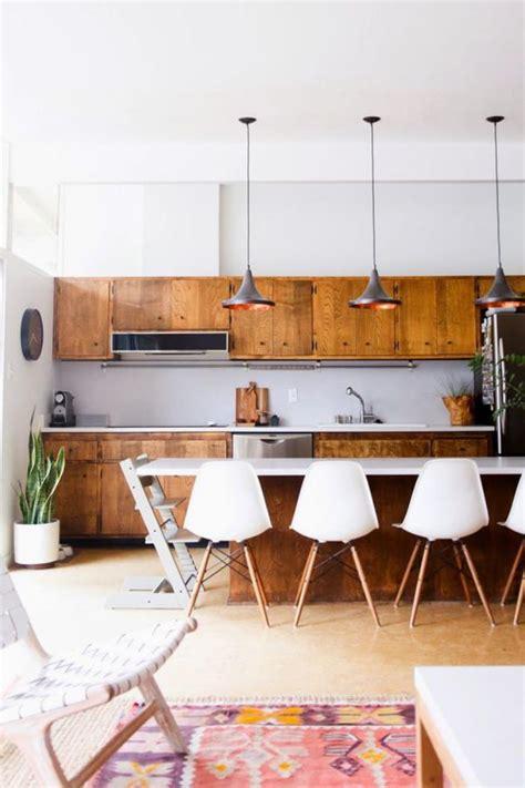plateau cuisine bois la cuisine blanche et bois en 102 photos inspirantes