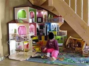 Barbiehaus Aus Holz : die besten 25 barbiehaus ideen auf pinterest ~ Watch28wear.com Haus und Dekorationen