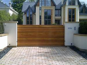 Modern Sliding Driveway Gates — Home Ideas Collection