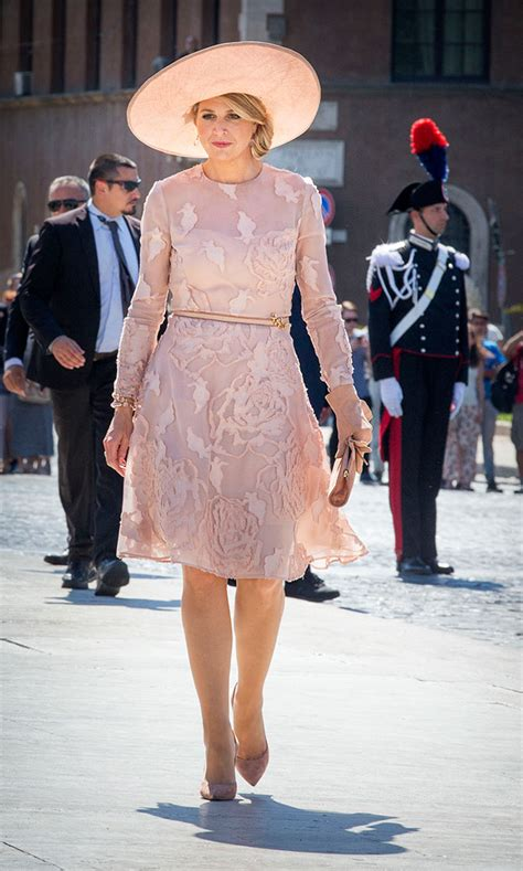 Queen Maxima Looks Incredible Gold During Final Day
