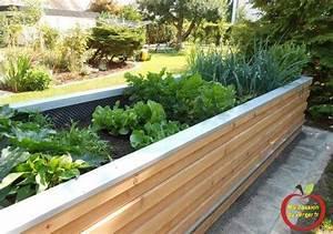 Potager En Bac : bacs en bois pour potager en permaculture ma passion du verger ~ Preciouscoupons.com Idées de Décoration