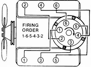 What Is The Firing Order For A 4 3l V6 Chevy Motor