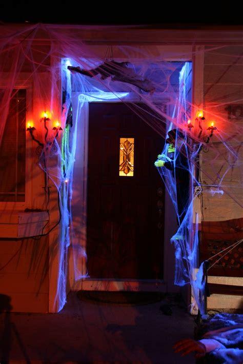 haunted halloween decor ideas   front porch