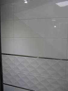 Carrelage Blanc Mat : carrelage mural 20x60 akrom blanc brillant ou mat saloni carrelage mural carrelage salle de ~ Melissatoandfro.com Idées de Décoration