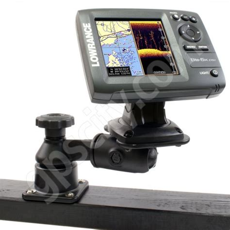 Jon Boat Depth Finder Mounts by Ram Mount Horizontal Swing Arm Lowrance And