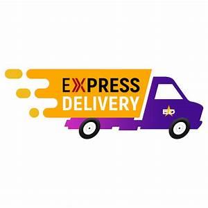 Express, Delivery, Logo, Design, Psd, U2013, Graphicsfamily