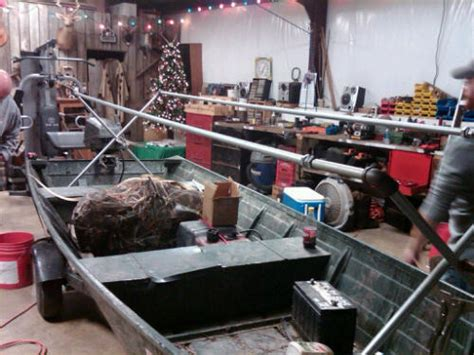 12 Foot Jon Boat Duck Blind by Rumaja Where To Get 12 Foot Jon Boat Duck Blind Plans