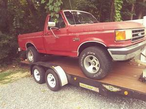 1991 Ford F150 4x4 Xl Shortbed 4 Wheel Drive 302 5spd