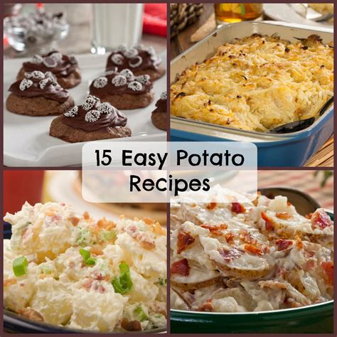 easy potatoe recipe 15 easy potato recipes mrfood com