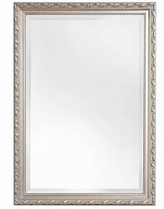 Spiegel 40 X 50 : spiegel mit silbernem barock rahmen ~ Bigdaddyawards.com Haus und Dekorationen