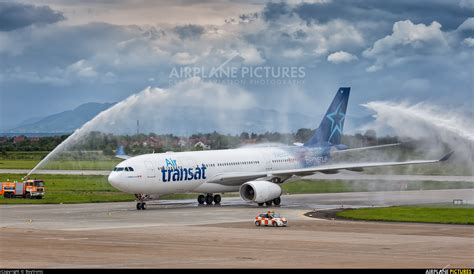 air transat toronto to c gtsr air transat airbus a330 200 at zagreb photo id 736046 airplane pictures net