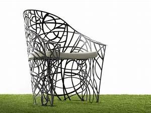 Fauteuil Fer Forgé : meubles de jardin design qui donnent envie de rester dehors ~ Melissatoandfro.com Idées de Décoration