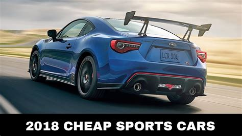 top  affordable sports cars   buy   youtube