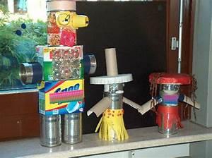 Roboter Selber Bauen Für Anfänger : roboter basteln mit m ll ~ Watch28wear.com Haus und Dekorationen