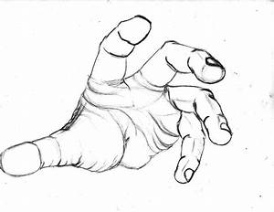 Open Hand Drawing - ClipArt Best
