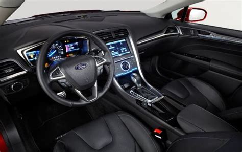 ford fusion 2017 interior 2017 ford fusion energi price changes release date