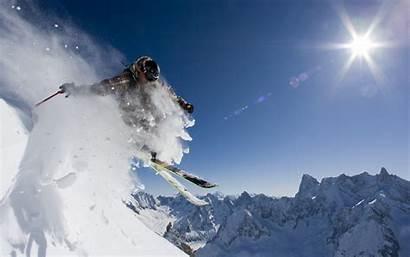 Skiing Snow Wallpapers Ski Skier Desktop Mountain