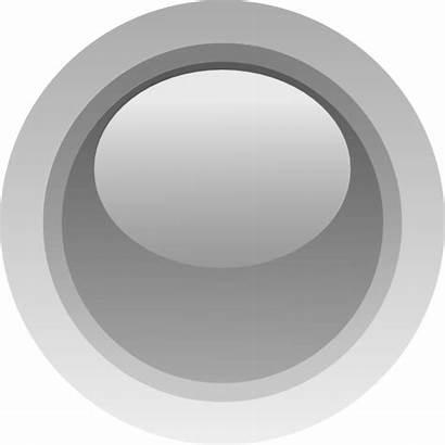 Grey Led Circle Clip Gray Vector Svg