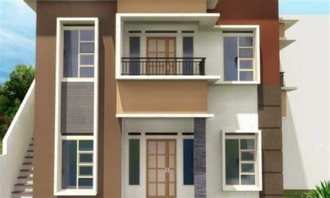 model rumah tingkat tangga diluar design rumah model terbaru