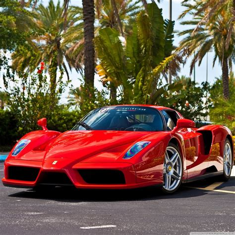 Red Ferrari Enzo Supercar 4k Hd Desktop Wallpaper For 4k