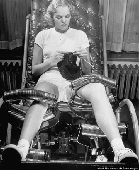 This 1940s 'Slenderizing' Equipment Promised To 'Remove' One's Hips And Thighs   HuffPost