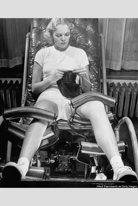 This 1940s 'Slenderizing' Equipment Promised To 'Remove' One's Hips And Thighs | HuffPost