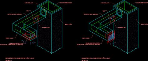bathroom extractor detail dwg detail  autocad designs cad