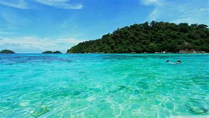 Sea Desktop Wallpapers Background 4k Natural Travel