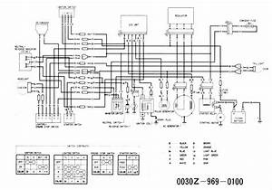2001 Honda Recon Trx 250 Wiring Diagram