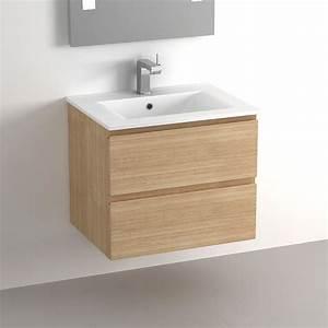 beau meuble vasque salle de bain 60 cm 80 sur carrelage de With meuble salle de bain sol
