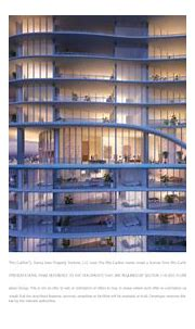 Ritz-Carlton Residences Sunny Isles - view west, at ...