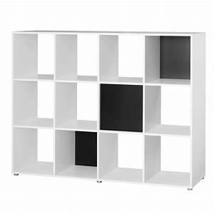 Raumteiler Regal Schwarz : raumteiler 12 f cher bestseller shop f r m bel und einrichtungen ~ Indierocktalk.com Haus und Dekorationen