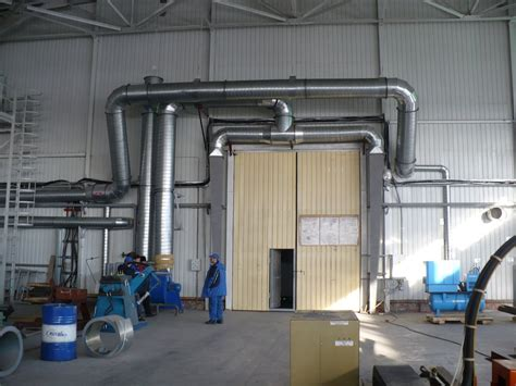 Отопление производственных помещений воздушное для промышленных зданий расчет системы