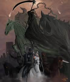 Four Horsemen Apocalypse Art