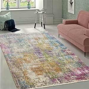 Teppich Modern Wohnzimmer : designer wohnzimmer teppich hochwertig modern shabby chic ~ Lizthompson.info Haus und Dekorationen