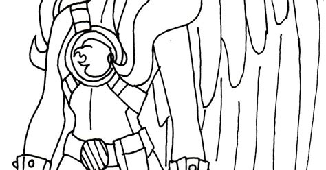 Hawkgirl Coloring Pages - Eskayalitim