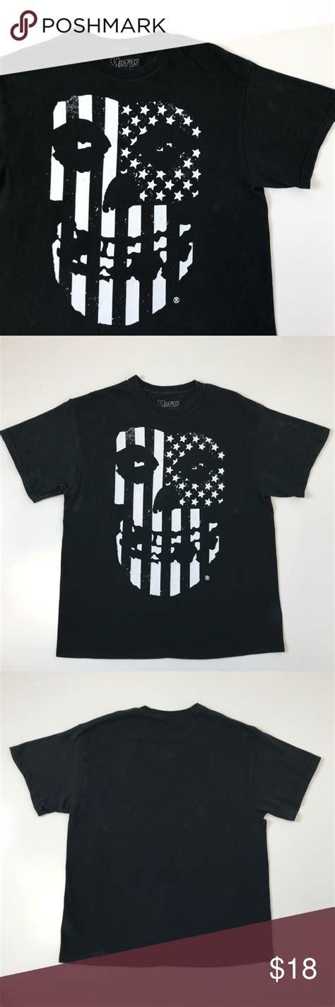 Band Tee | Misfits usa flag skull punk rock L | Clothes ...