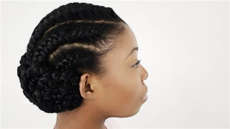 Short Natural Hairstyles For Black Women Tutorial