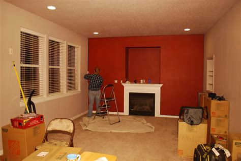 Country Painting Colors Elegant Red Living Room Paint