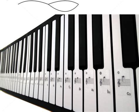 Piano Keyboard 61keys Electronic Keyboard Stickers Label