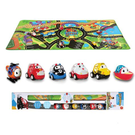 grippers oball city deluxe playmat bundle