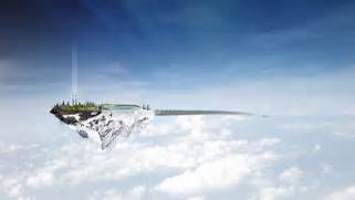 Floating City In The Sky Fantasy Floating island hd  Floating House In The Sky
