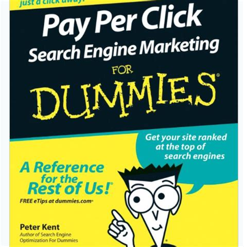 marketing for dummies quot ppc search engine marketing for dummies quot book reviews