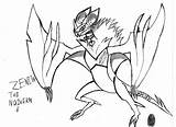 Zenith Coloring Noivern Pages Template Sketch sketch template