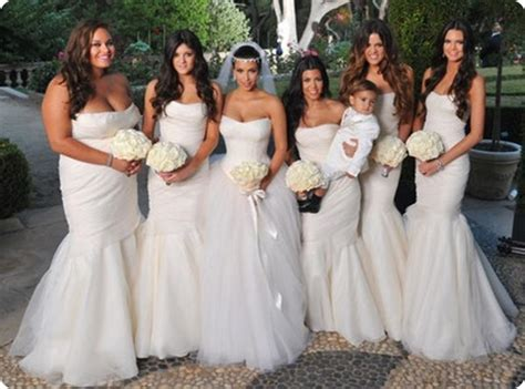 Would You Dress Your Wedding Party In White?