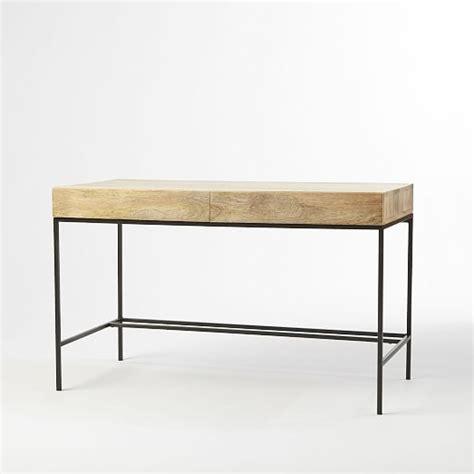 west elm industrial desk industrial storage desk west elm
