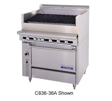 equipement cuisine commercial c836 36arc garland cuisine series heavy duty range